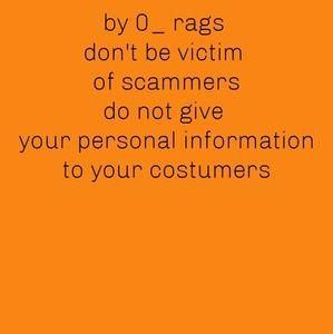 Handbags - Be alert of scammers